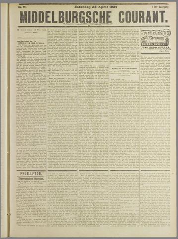 Middelburgsche Courant 1927-04-23