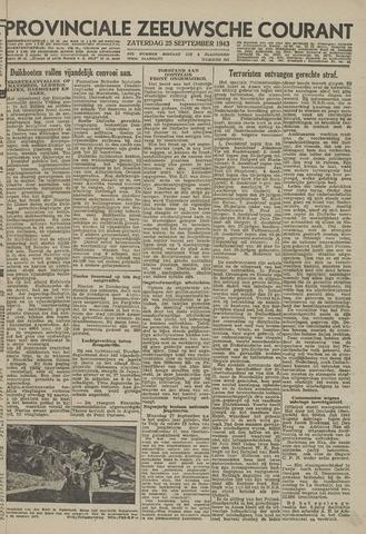 Provinciale Zeeuwse Courant 1943-09-25