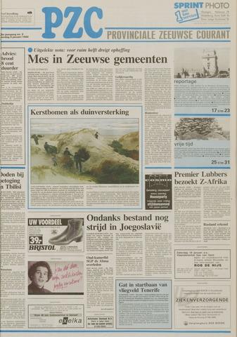 Provinciale Zeeuwse Courant 1992-01-04