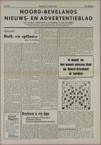 Noord-Bevelands Nieuws- en advertentieblad 1977-02-10
