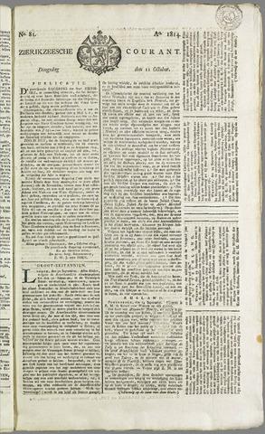 Zierikzeesche Courant 1814-10-11