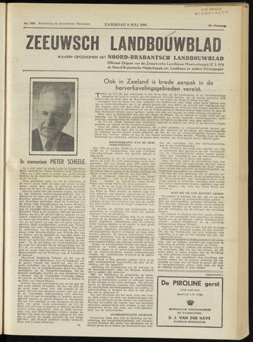 Zeeuwsch landbouwblad ... ZLM land- en tuinbouwblad 1955-07-09