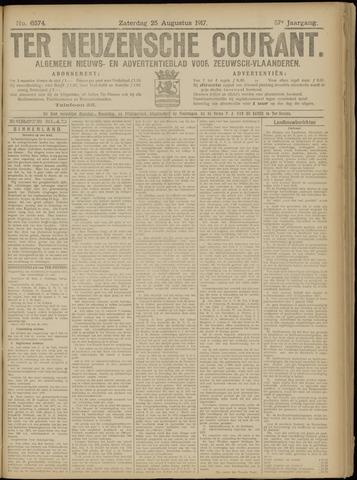 Ter Neuzensche Courant. Algemeen Nieuws- en Advertentieblad voor Zeeuwsch-Vlaanderen / Neuzensche Courant ... (idem) / (Algemeen) nieuws en advertentieblad voor Zeeuwsch-Vlaanderen 1917-08-25