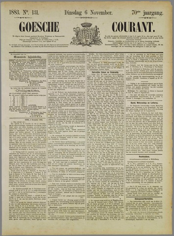 Goessche Courant 1883-11-06
