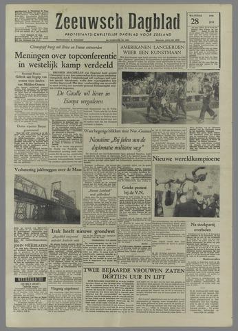 Zeeuwsch Dagblad 1958-07-28