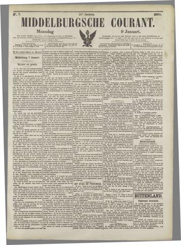 Middelburgsche Courant 1899-01-09