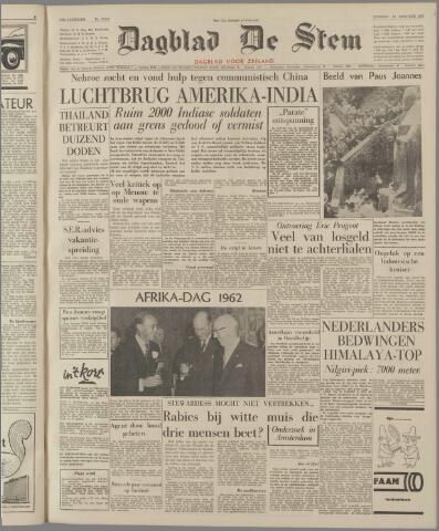 de Stem 1962-10-30