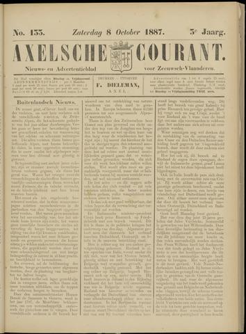 Axelsche Courant 1887-10-08