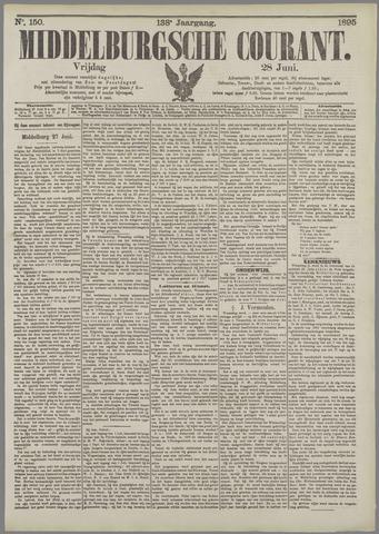 Middelburgsche Courant 1895-06-28