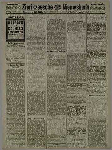 Zierikzeesche Nieuwsbode 1925-10-05