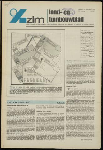 Zeeuwsch landbouwblad ... ZLM land- en tuinbouwblad 1975-09-12