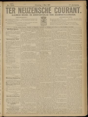 Ter Neuzensche Courant. Algemeen Nieuws- en Advertentieblad voor Zeeuwsch-Vlaanderen / Neuzensche Courant ... (idem) / (Algemeen) nieuws en advertentieblad voor Zeeuwsch-Vlaanderen 1917-05-01