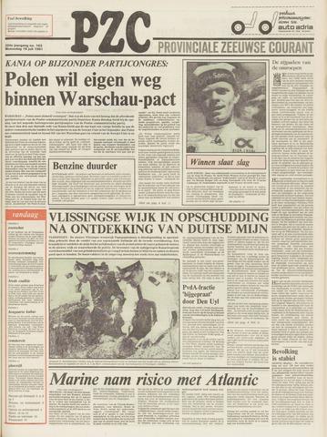 Provinciale Zeeuwse Courant 1981-07-15