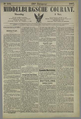 Middelburgsche Courant 1887-05-02