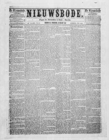 Sheboygan Nieuwsbode 1859-03-16