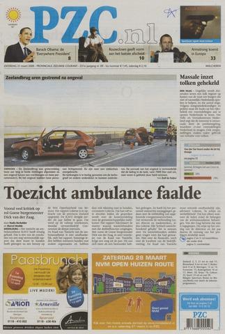 Provinciale Zeeuwse Courant 2009-03-21