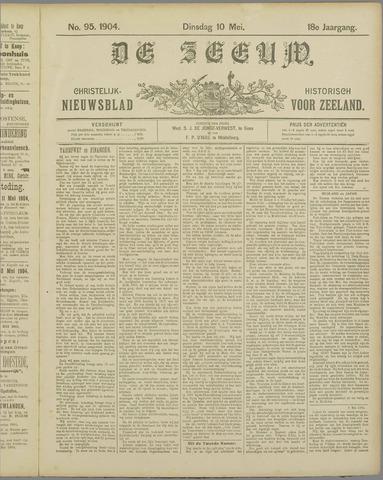 De Zeeuw. Christelijk-historisch nieuwsblad voor Zeeland 1904-05-10