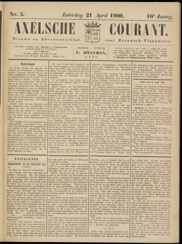 Axelsche Courant 1900-04-21