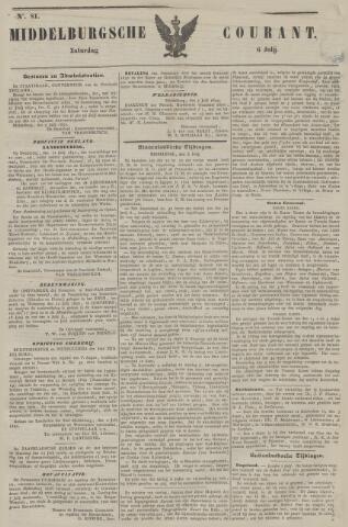 Middelburgsche Courant 1850-07-06