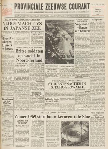 Provinciale Zeeuwse Courant 1969-04-22