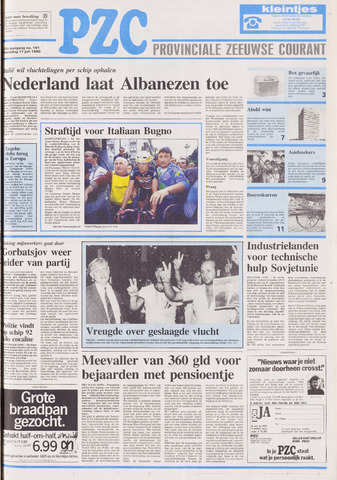 Provinciale Zeeuwse Courant 1990-07-11