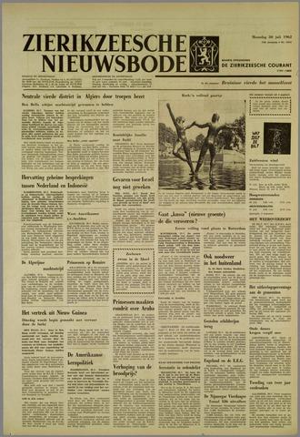 Zierikzeesche Nieuwsbode 1962-07-30