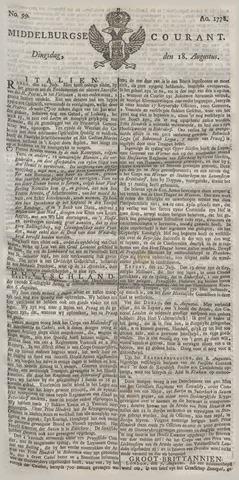Middelburgsche Courant 1778-08-18