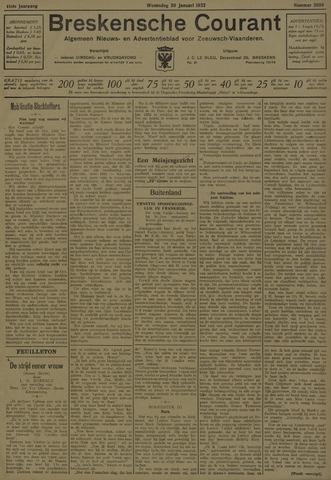 Breskensche Courant 1932-01-20