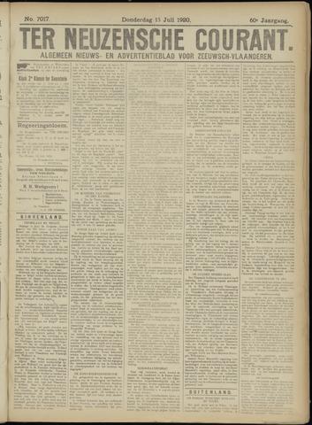 Ter Neuzensche Courant. Algemeen Nieuws- en Advertentieblad voor Zeeuwsch-Vlaanderen / Neuzensche Courant ... (idem) / (Algemeen) nieuws en advertentieblad voor Zeeuwsch-Vlaanderen 1920-07-15