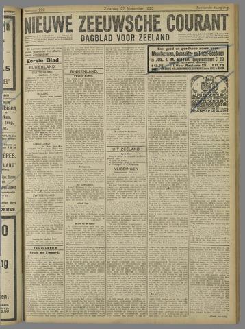 Nieuwe Zeeuwsche Courant 1920-11-27