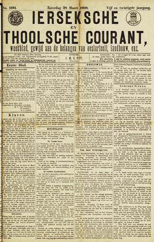 Ierseksche en Thoolsche Courant 1908-03-28