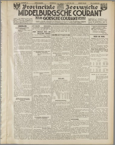 Middelburgsche Courant 1935-01-23