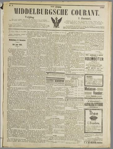 Middelburgsche Courant 1909