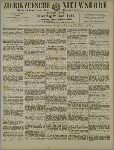Zierikzeesche Nieuwsbode 1904-04-21