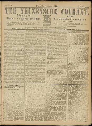 Ter Neuzensche Courant. Algemeen Nieuws- en Advertentieblad voor Zeeuwsch-Vlaanderen / Neuzensche Courant ... (idem) / (Algemeen) nieuws en advertentieblad voor Zeeuwsch-Vlaanderen 1904-01-07