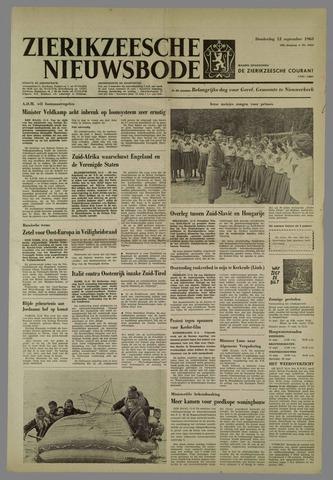 Zierikzeesche Nieuwsbode 1963-09-12