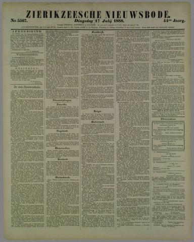 Zierikzeesche Nieuwsbode 1888-07-17