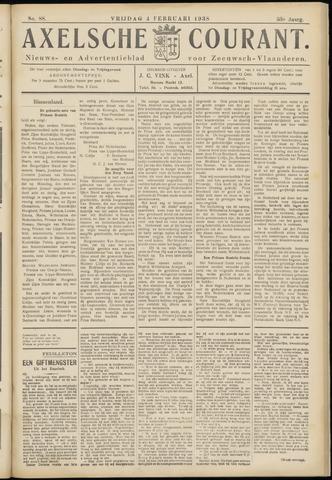 Axelsche Courant 1938-02-04