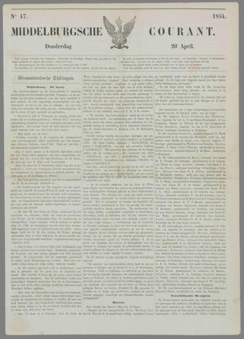 Middelburgsche Courant 1854-04-20