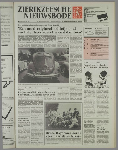 Zierikzeesche Nieuwsbode 1991-05-27