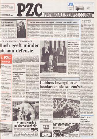 Provinciale Zeeuwse Courant 1989-02-11