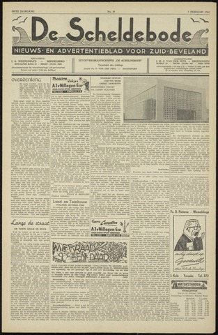 Scheldebode 1964-02-07