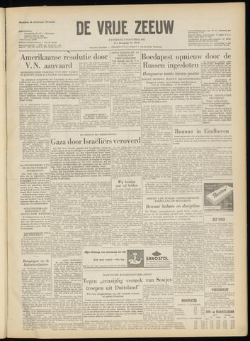 de Vrije Zeeuw 1956-11-03