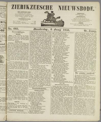 Zierikzeesche Nieuwsbode 1850-06-06