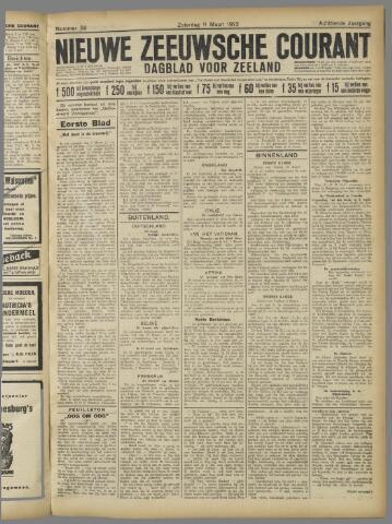 Nieuwe Zeeuwsche Courant 1922-03-11