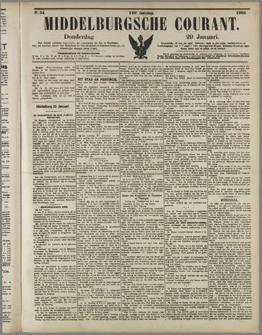Middelburgsche Courant 1903-01-29