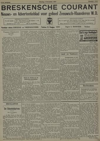 Breskensche Courant 1937-11-02