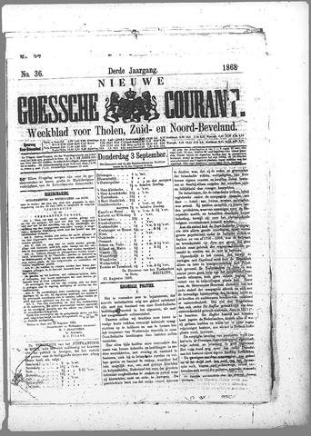 Nieuwe Goessche Courant 1868-09-03