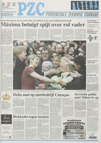 Provinciale Zeeuwse Courant 2001-03-31