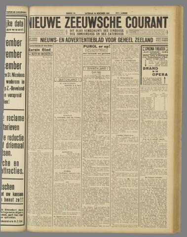 Nieuwe Zeeuwsche Courant 1931-11-14